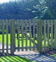 Rounded Pale Palisade Gate Kit Jacksons Fencing
