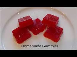 how to make homemade gummies you