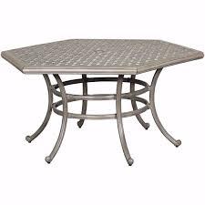 macon 54 hexagon patio table