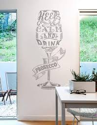 Alcohol Wall Stickers