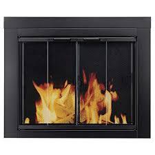 gas fireplace doors com