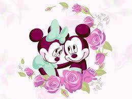 mickey and minnie wallpaper mickey