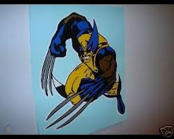 Wolverine X Men Large Cool Vinyl Window Decal Sticker 33842162