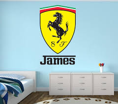 Personalized Name Wall Decal Racing Wall Art Boys Bedroom Etsy