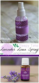homemade lavender linen spray sleepy