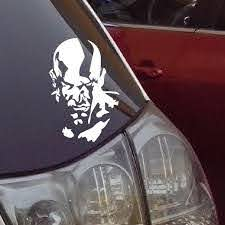 2020 God Of War High Quality Waterproof Car Stickers And Vinyl Decals Funny Stickers Reflective Silver From Walked 12 52 Dhgate Com