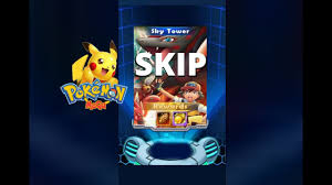 Pokemon Mega: Sky Tower Wipe Out All Skip Trick! - YouTube