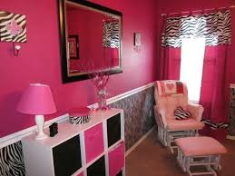 Pink And Zebra Print Room Kids Rooms Pinterest Pink Zebra Rooms Zebra Room Zebra Bedroom Decor