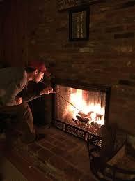 fireplace bellows fire pit tool