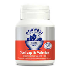 scullcap valerian tablets for dogs
