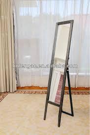 wooden dressing floor standing mirrors