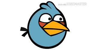 Angry Birds Sound Blue Bird - YouTube
