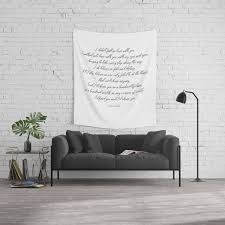 I D Choose You 2 Quotes Love Minimalism Wall Tapestry By Andreaanderegg Society6