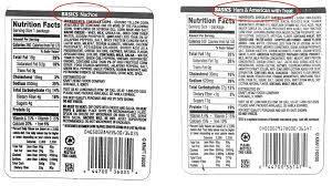 kraft lunchable recall 2016 label error