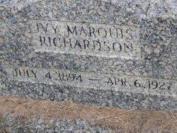 "Iva Connor ""Ivy"" Marquis Richardson (1895-1927) - Find A Grave Memorial"