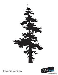 Vinyl Wall Decal Sticker Single Pine Tree 851