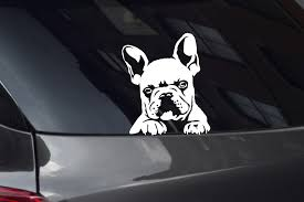 French Bulldog Decals Stickers Decalboy