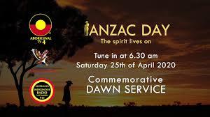ANZAC Day Commemorative Dawn Service ...