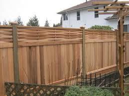 Basket Weave Lattive Top In Maple Ridge Asian Fencing Living Fence Backyard Fences Fence Design