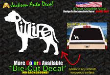 Love Infinity Pitbull Dog Car Decal Vinyl Sticker 6 M69 Pets Animals Pit Bull For Sale Online Ebay