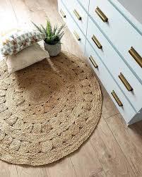 aftas round jute rug ø120cm natural