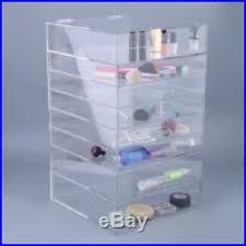 clear acrylic cosmetic organizer large