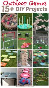 diy outdoor games 15 awesome project