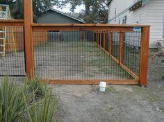 The Handiman Llc 4x4 Post Spaced 8 Ft Apart A Landscape Timber Hog Wire Fence Wire Fence Panels Wire And Wood Fence