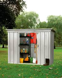 yardmaster 6x4ft pent metal shed home