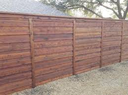 Horizontal Fences Residential Fencing A O Texas Solutions