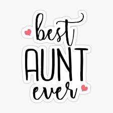 Best Aunt Ever Stickers Redbubble