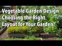 how to plan a vegetable garden design