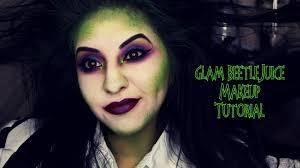 glam beetlejuice makeup tutorial you