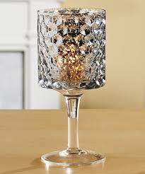 small glass goblet candleholder zulily