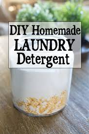 easy homemade powdered laundry