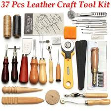 37pcs leather craft tools sewing