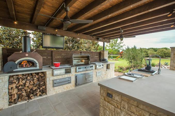Outdoor Kitchen Designs Add Style To Your Home