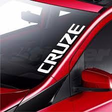 For Chevrolet Cruze Car Windscreen Sticker Rear Window Bumper Decal Wish