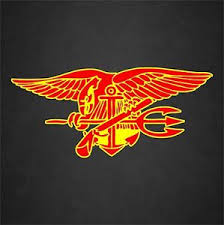 Us Navy Seal Insignia Badge Veteran Vinyl Graphics Decal Sticker Car Window Ebay