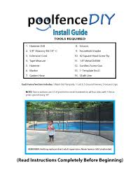 Pool Fence Diy Installation Tip Tricks And Ideas Pet Fence Diy By Life Saver Pool Fence