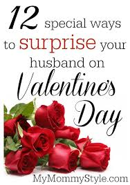 special ways to surprise your husband