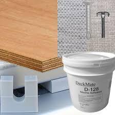 Tapis Kit De Ponton Avec Plancher De Vinyle Tisse