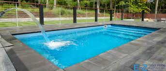 small fiberglass pools e z test pool