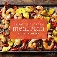 Simple 30-Day Weight-Loss Meal Plan: 1,200 Calories | EatingWell