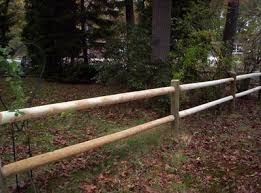 Round Doweled Cedar Post Rail Spaulding Fence Supply