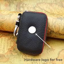 genuine pu leather housekeeper car key