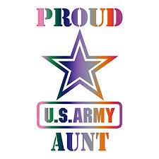 Amazon Com Proud Us Army Aunt Car Window Vinyl Decal Sticker Pa 01 Handmade
