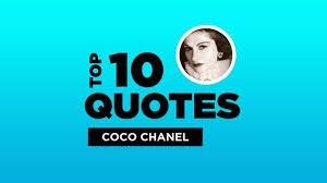 top coco chanel quotes french designer cocochanel