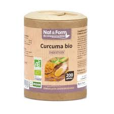 organic turmeric 200 capsules of