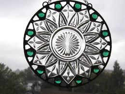 stained glass suncatchervintage
